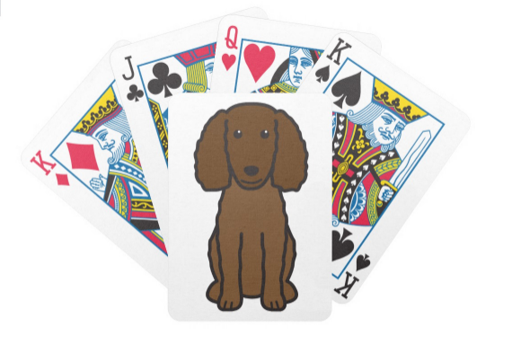 #AmericanWaterSpaniel Playing Cards