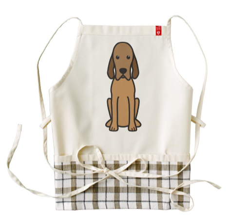 I Love My #RedboneCoonhound apron