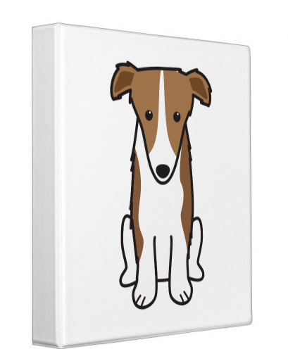 I Love My #Borzoi Binder