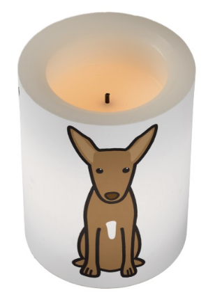 I Love My #PharaohHound Flameless Candle