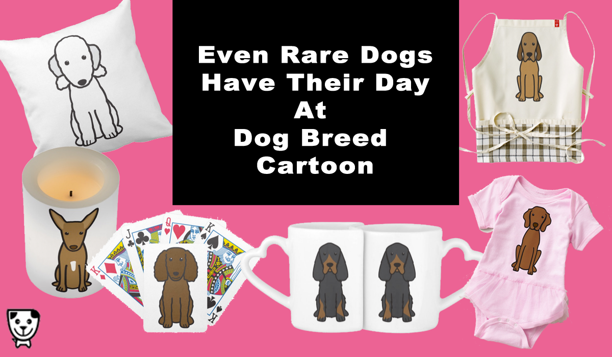 Find Rare Dog Breed Gifts In The Dog Breed Cartoon Zazzle Shop