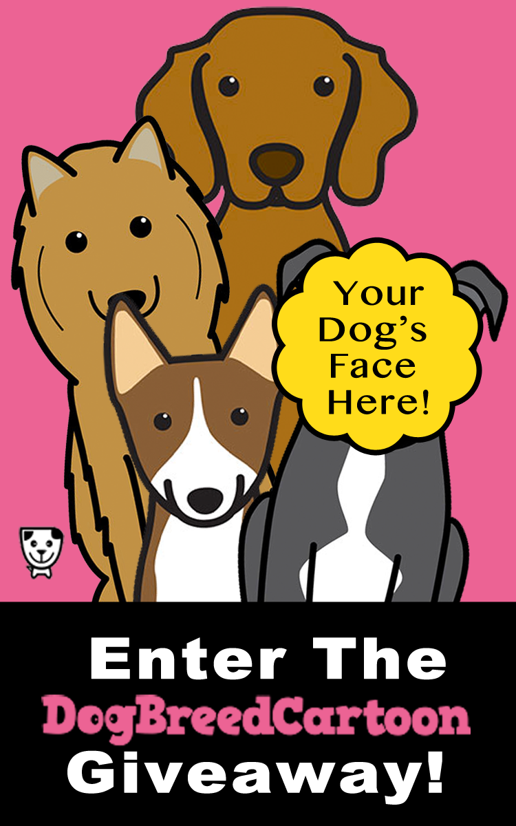Dog Breed Cartoon #Giveaway
